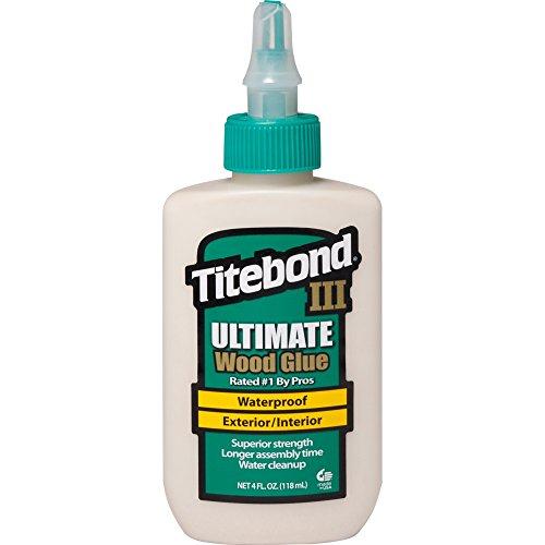 Titebond Ultimate Colle à bois pour l'intérieur et l'extérieur, imperméable, 118ml, 141/2