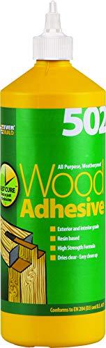 Everbuild WOOD1 Colle à bois étanche 1 l