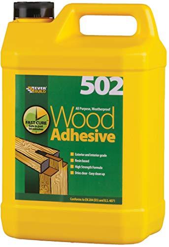Everbuild WOOD1 Colle à bois étanche 5 l